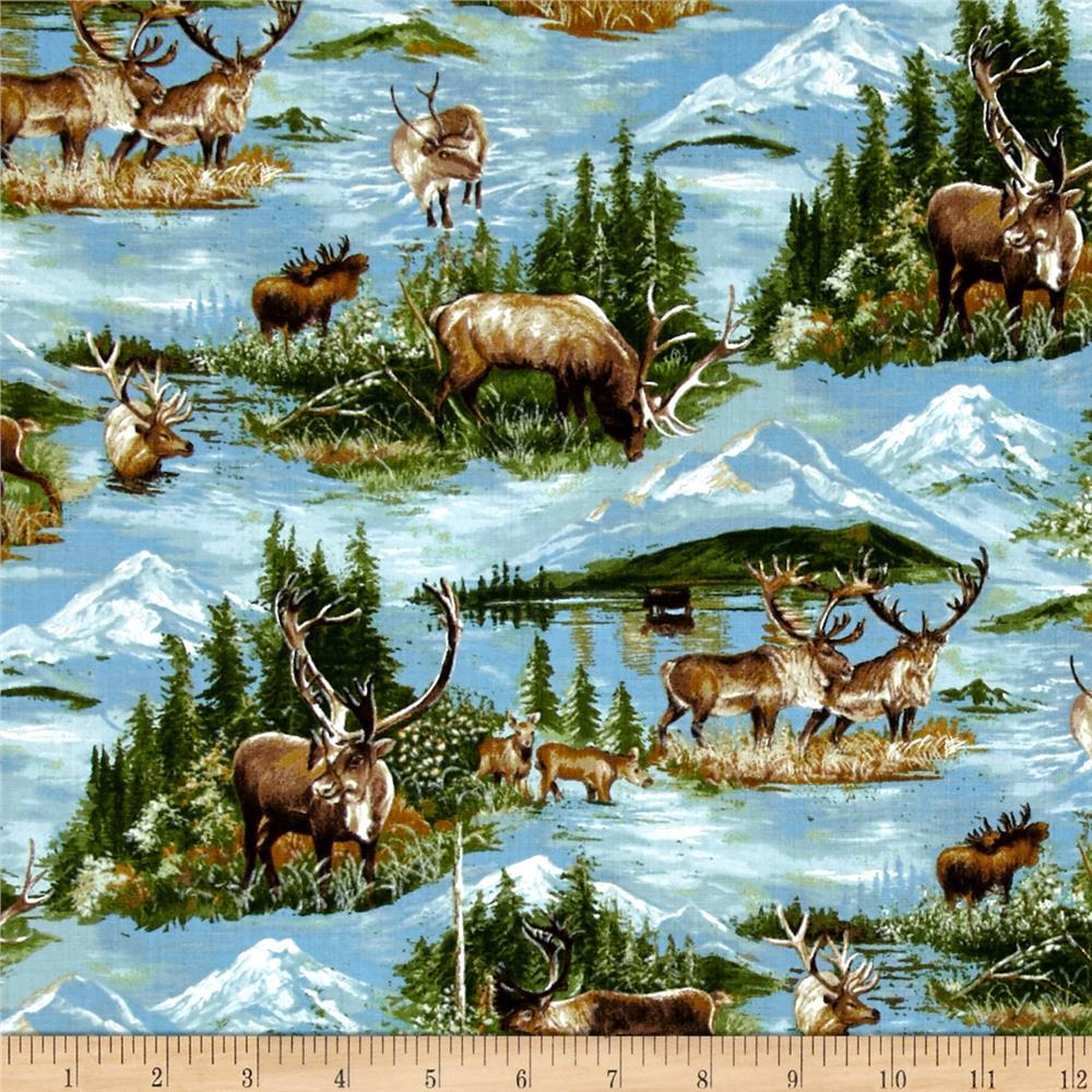 Moda Wild Blue Yonder Grazing Herd Summer