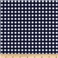 Riley Blake Medium Gingham Navy