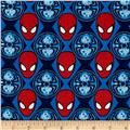 Marvel Ultimate Spiderman Spider-Man Heads Blue