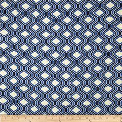 Riley Blake Home Décor Diamonds Navy
