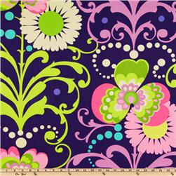 Amy Butler Home Décor Love Twill Paradise Garden Midnight