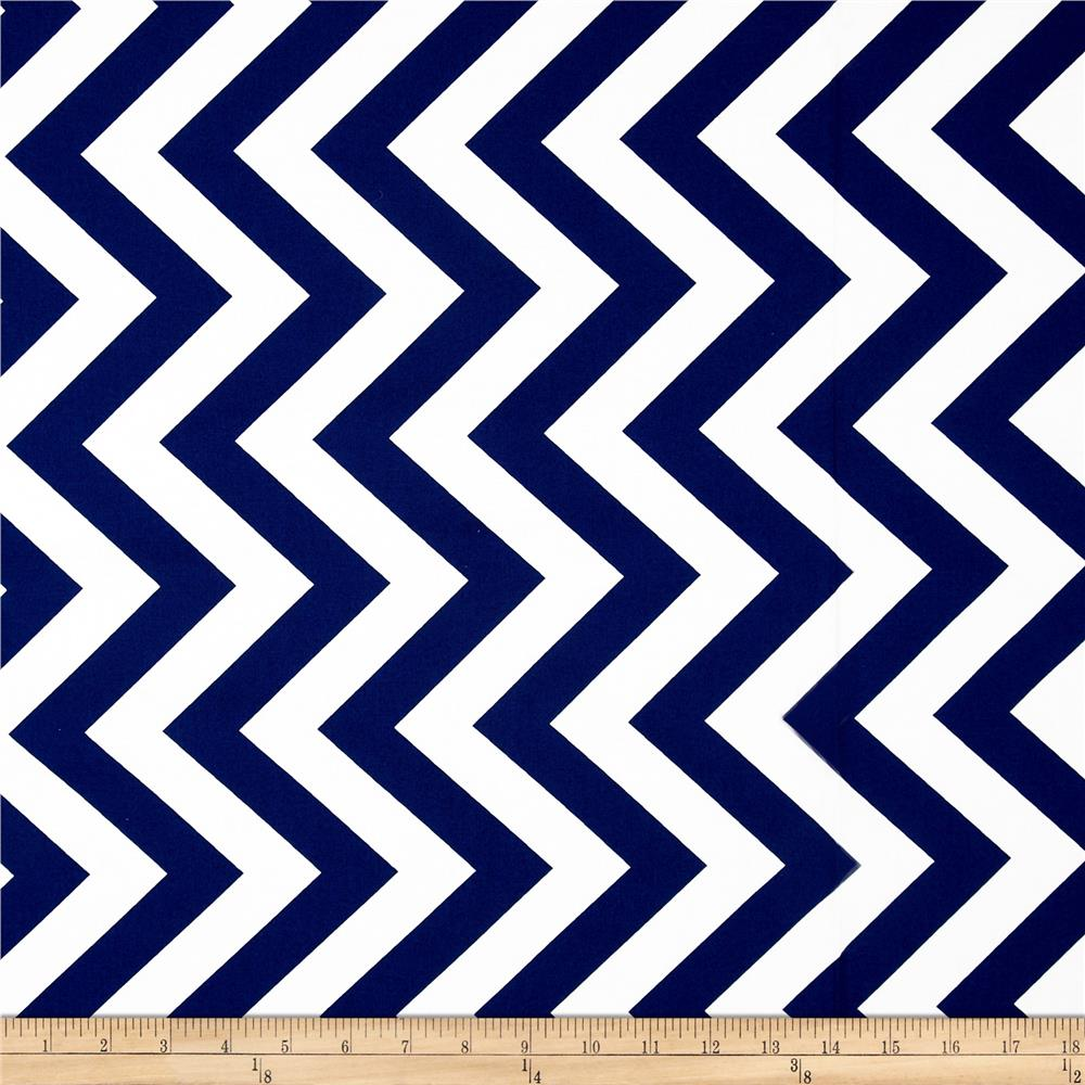 Moda Half Moon Modern Large Zig Zag Royal