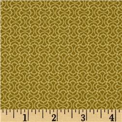 Marigold Squiggle Tile Green