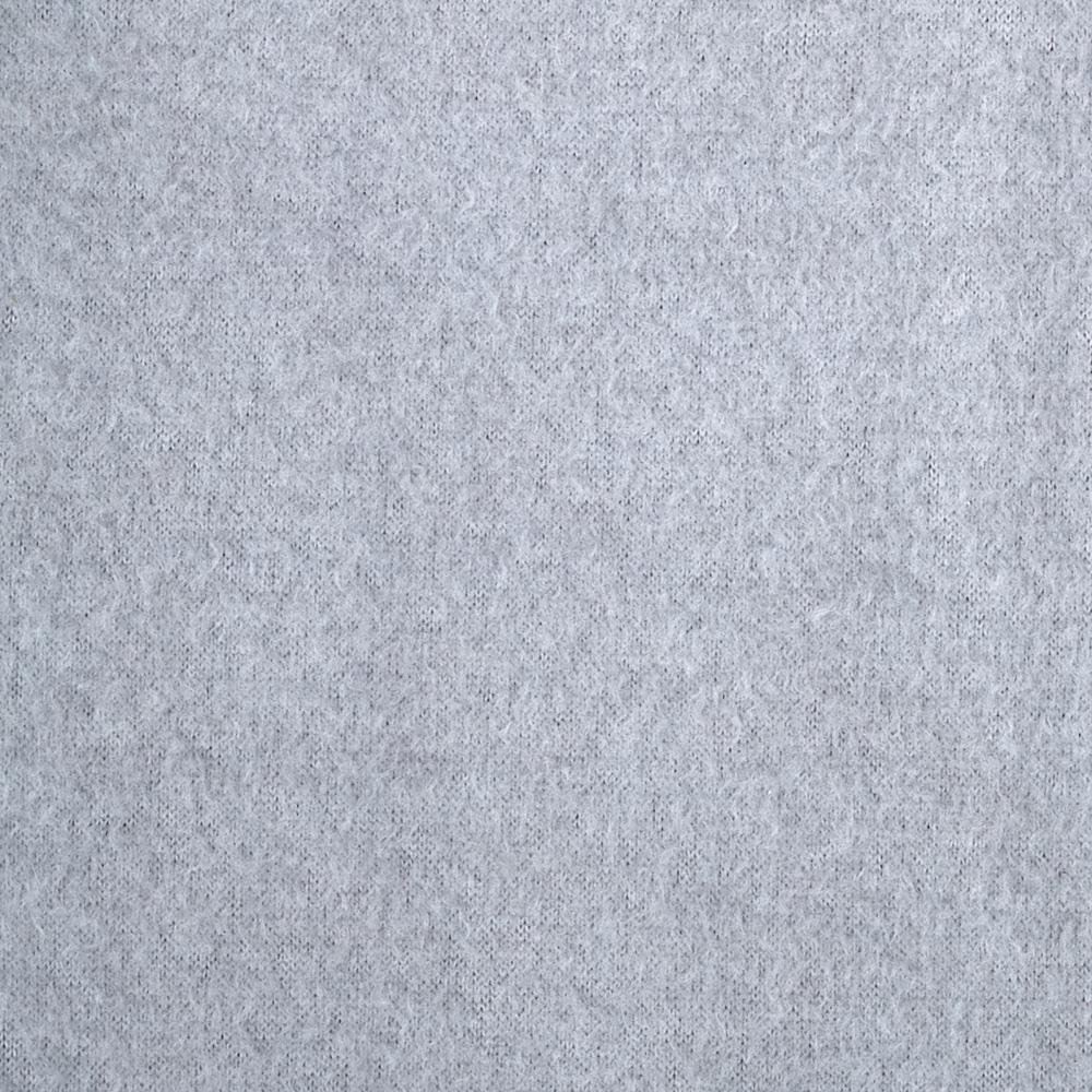 Warm Winter Fleece Solid Heather Grey Fabric