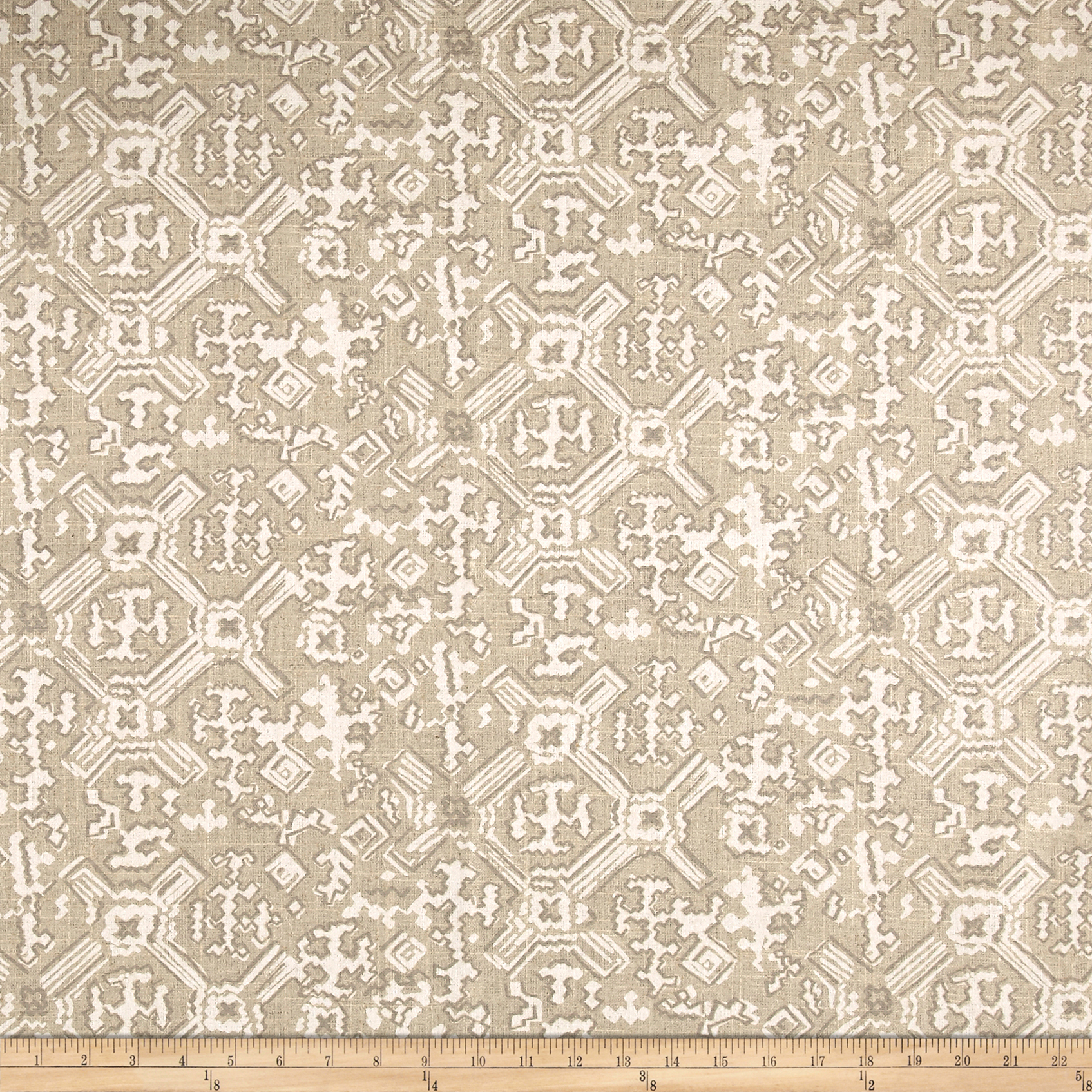 Lacefield Nomad Chalk Pearlized Fabric by Lacefield in USA