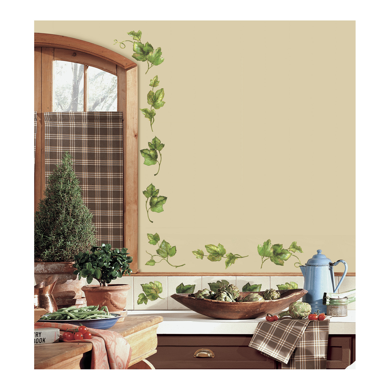 Evergreen Ivy Wall Decals by Stardom Specialty in USA