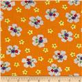 Moda Ducks in a Row Dotty Daisy Orange