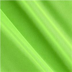 Spandex Stretch Illusion Shaper Mesh Neon Green