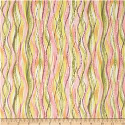 Botanical Society Wavy Stripe Pink