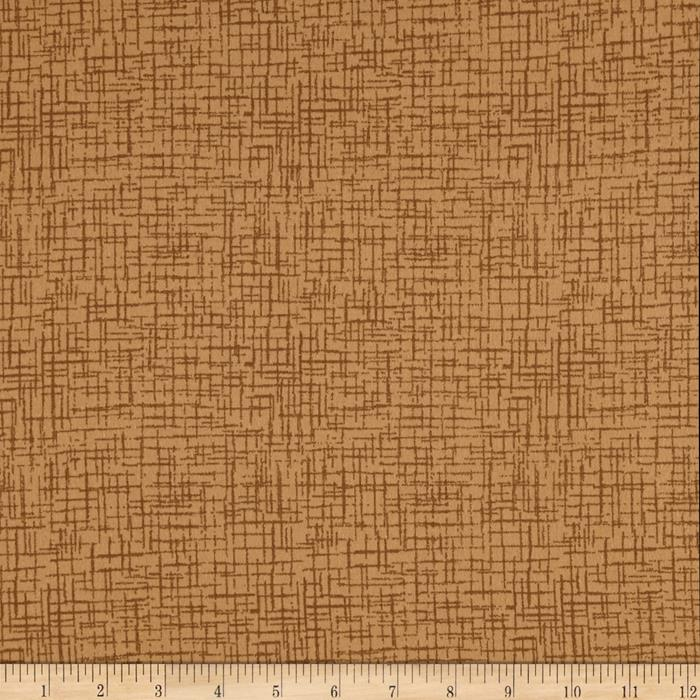 110 In. Wide Quilt Back Betula Flannel Tan Fabric By The Yard