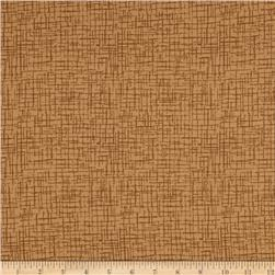 110 In. Wide Quilt Back Betula Flannel Tan