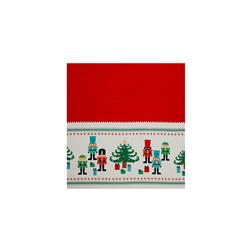 "Riley Blake Nutcracker Christmas Border Print 36"" Panel Red"