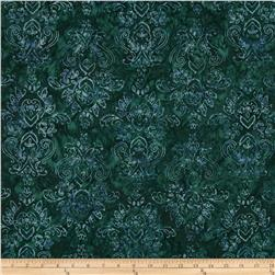 Moda Woodland Summer Batiks Symmetry Olive