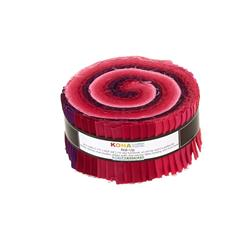 Robert Kaufman Kona Solids Fragrant Fuchsia 2.5 In. Jelly Roll