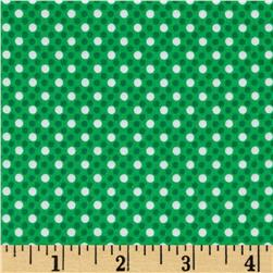 Michael Miller Dim Dots Spearmint