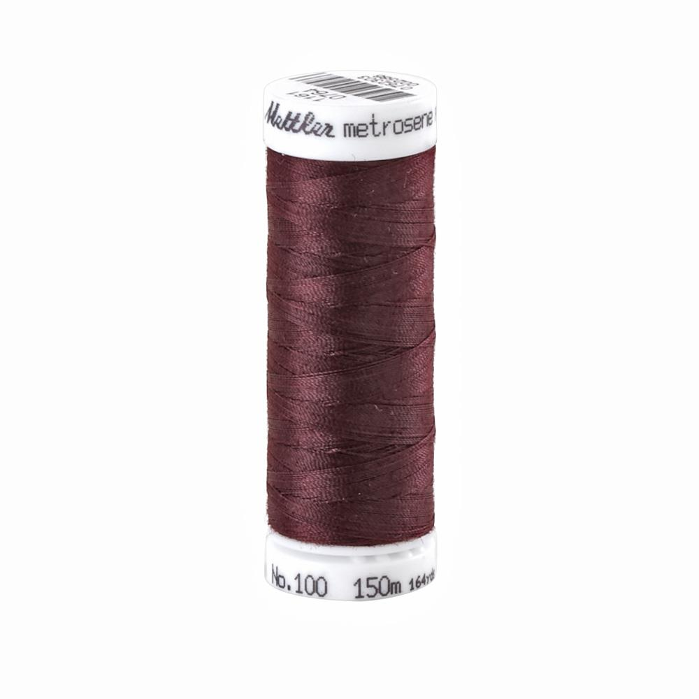 Mettler Metrosene Polyester All Purpose Thread Beet Red