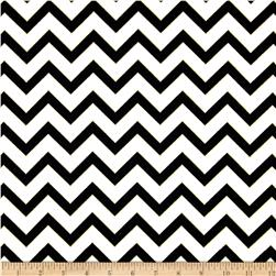 Nightfall Metallic Chevron White