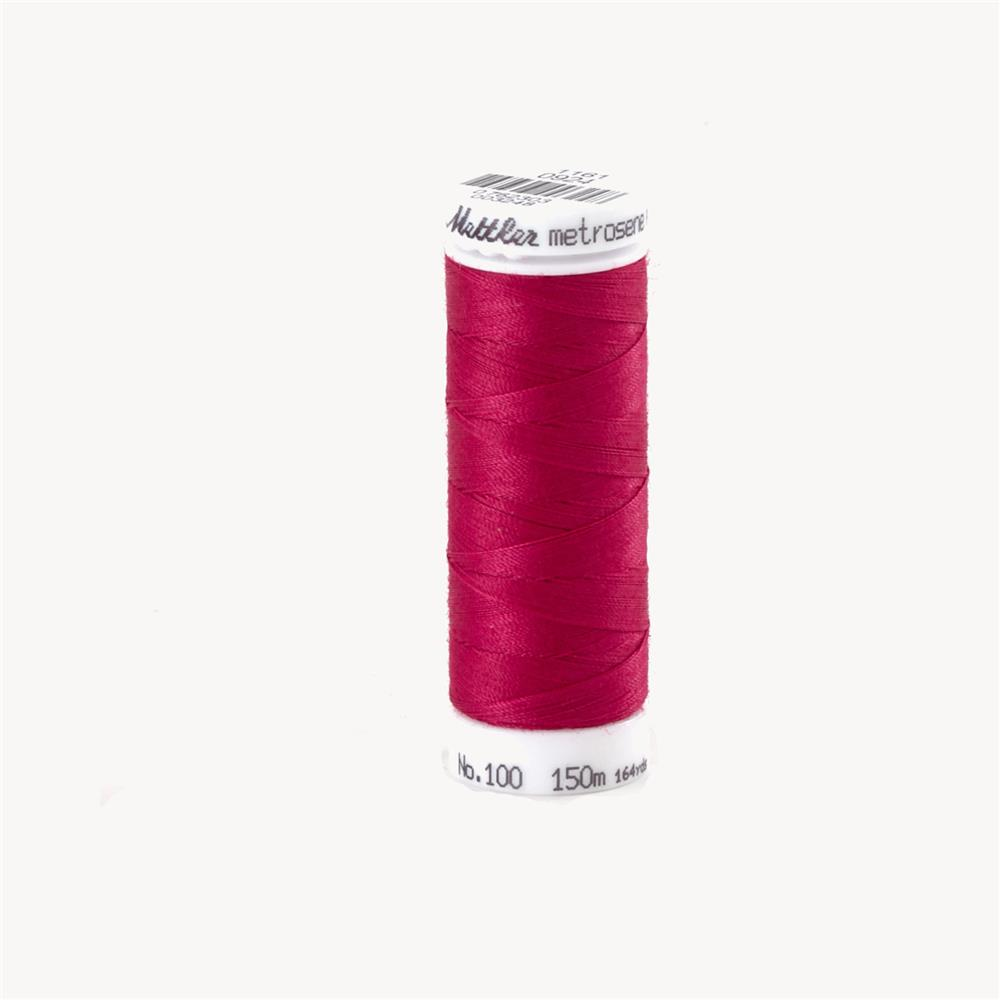 Mettler Metrosene Plus Polyester All Purpose Thread Bright Ruby