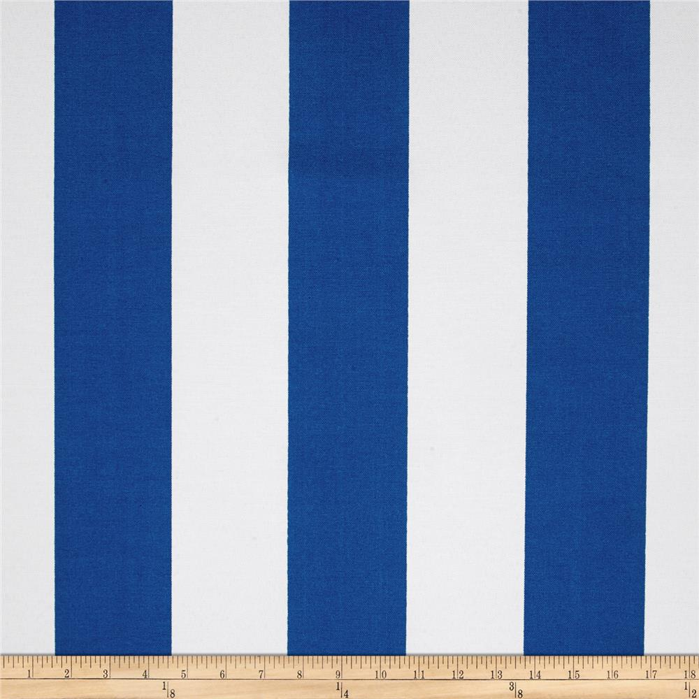 Premier Prints Indoor/Outdoor Vertical Stripe Cobalt