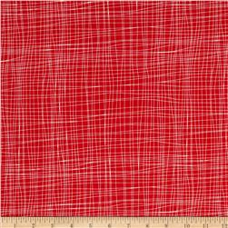 Zoe & Zack Plaid Red