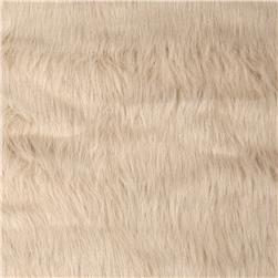 Faux Fur Hair Beige