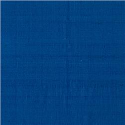 Dupioni Silk Fabric Iridescent Royal Blue