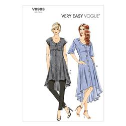Vogue Misses' Tunic, Dress and Pants Pattern V8983 Size B50