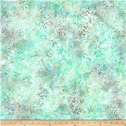 Wilmington Batiks Floral Dots Teal