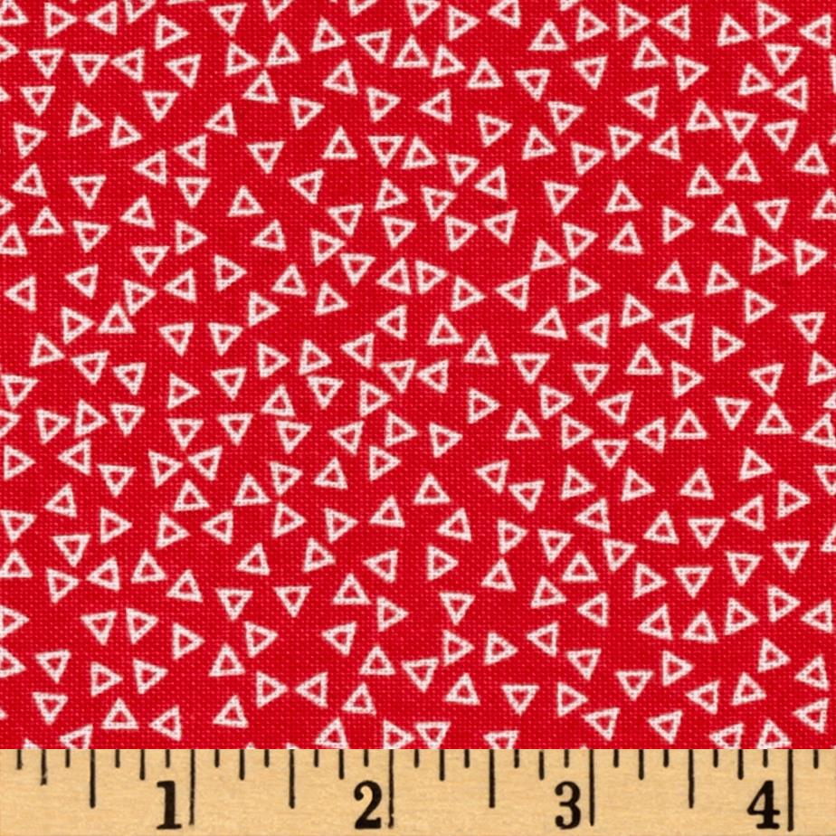 Penny Rose Chatterbox Aprons Diamond Red