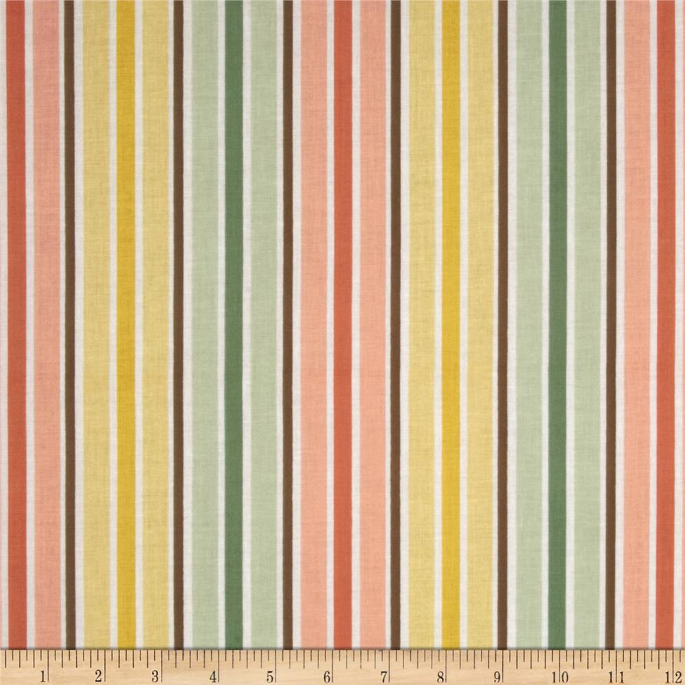 Riley Blake Valencia Stripe Yellow