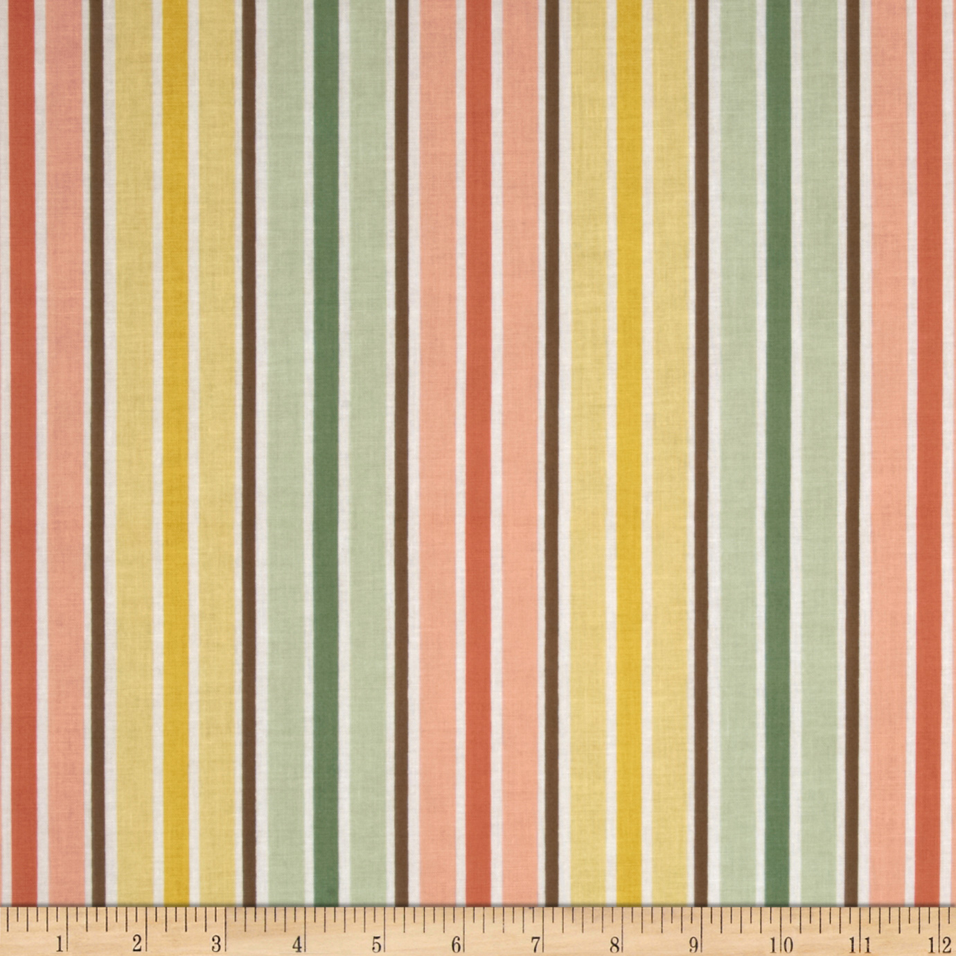 Riley Blake Valencia Stripe Yellow Fabric