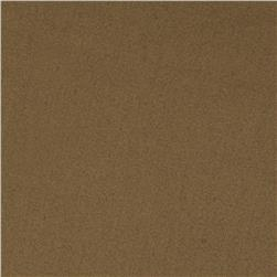 Stretch Cotton Sateen Dark Bronze