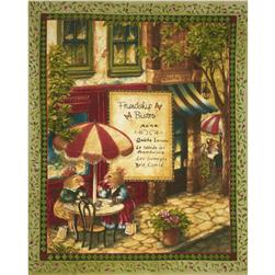Friendship Bistro Panel Green/Multi