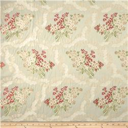 Robert Allen Promo French Bouquet Jacquard Iced Celadon