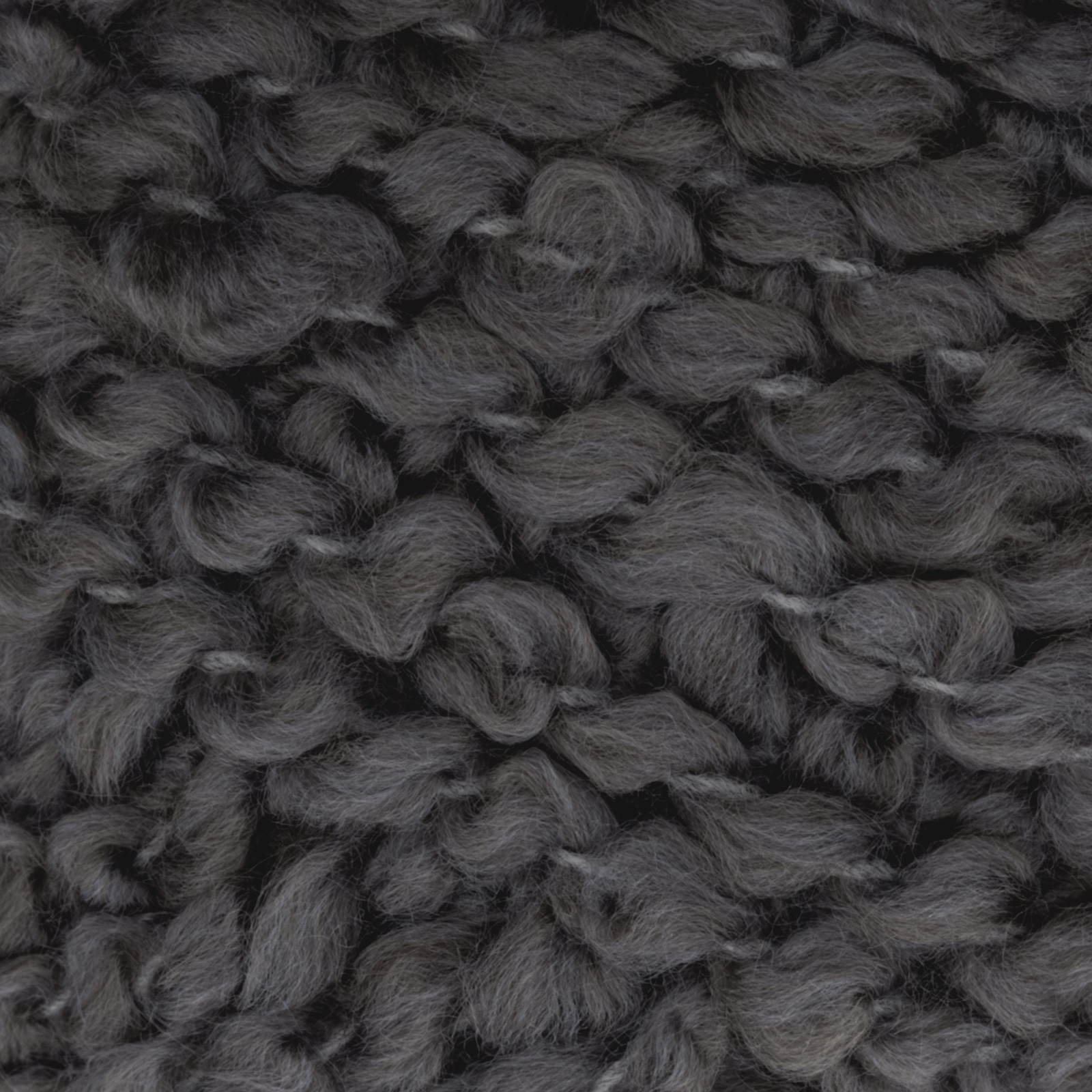 Bernat Soft Boucle' Yarn (46045) Grey Heather