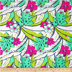 Hawaiian Tropical Fun Floral Activewear  Multi