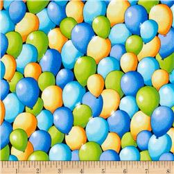 Party On! Balloons Blue