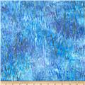 Artisan Batiks Northwoods Bark Starry Night Blue