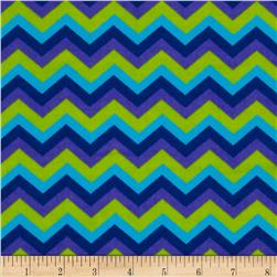 B-Bold Flannel Chevron Blue