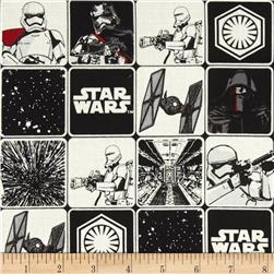 Star Wars The Force Awakens Grid Black