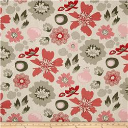 Riley Blake Lost and Found 2 Home Decor Floral Red