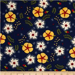 Moda The Sweet Life Prints Cheery Blossoms True Blue