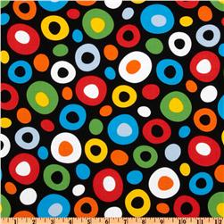 Celebrate Seuss Dot Black/Multi Fabric