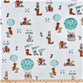 Minky Cuddle Prints Let's Explore Breeze