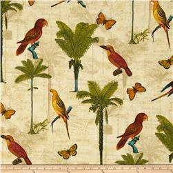 Tommy Bahama Indoor/Outdoor Hearts of Palm Toffee Fabric