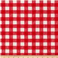 Basic Training Gingham Red/White