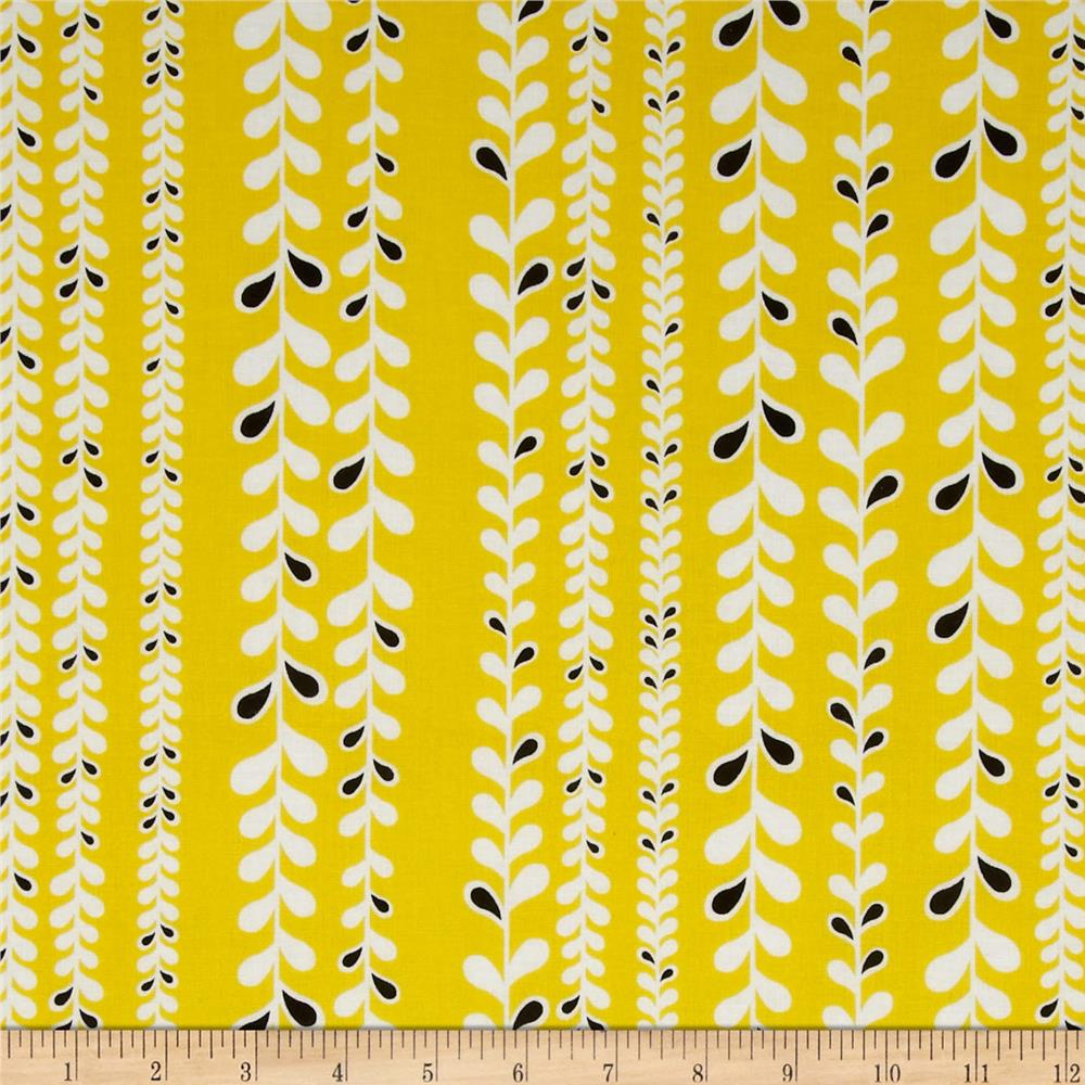 Taxi Vine Stripe Yellow