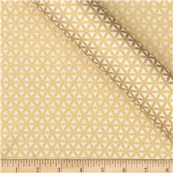 Jackie Heavy Metal Collection Lattice Metallic Gold Fabric