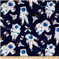 Timeless Treasures Astronauts Astronauts Navy