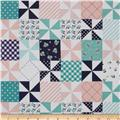 Riley Blake Country Girls Country Patchwork Pink
